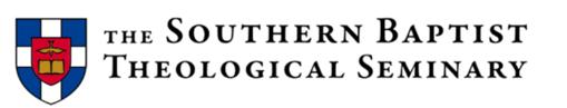 Southern Baptist Theological Seminary Blog Post-3