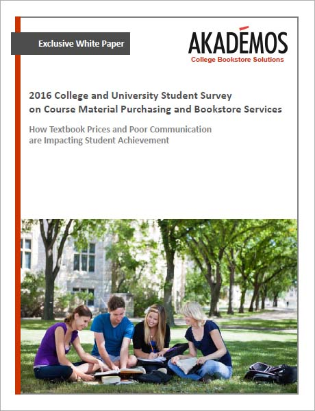 College and University Student survey on Course Material Purchasing and Bookstore Services