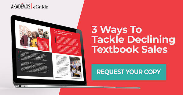 3 Ways to Tackle Declining Textbook Sales